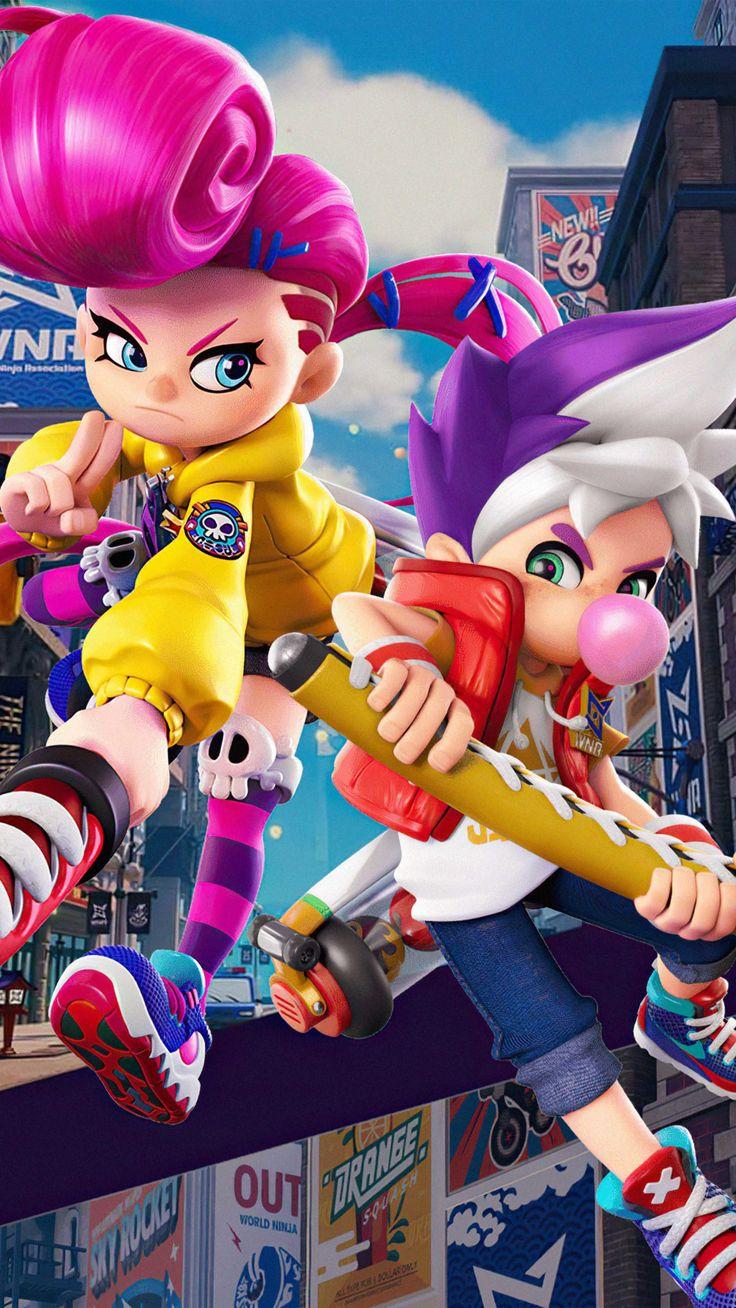 Ninjala Game 2020 4K Ultra HD Mobile Wallpaper in 2020