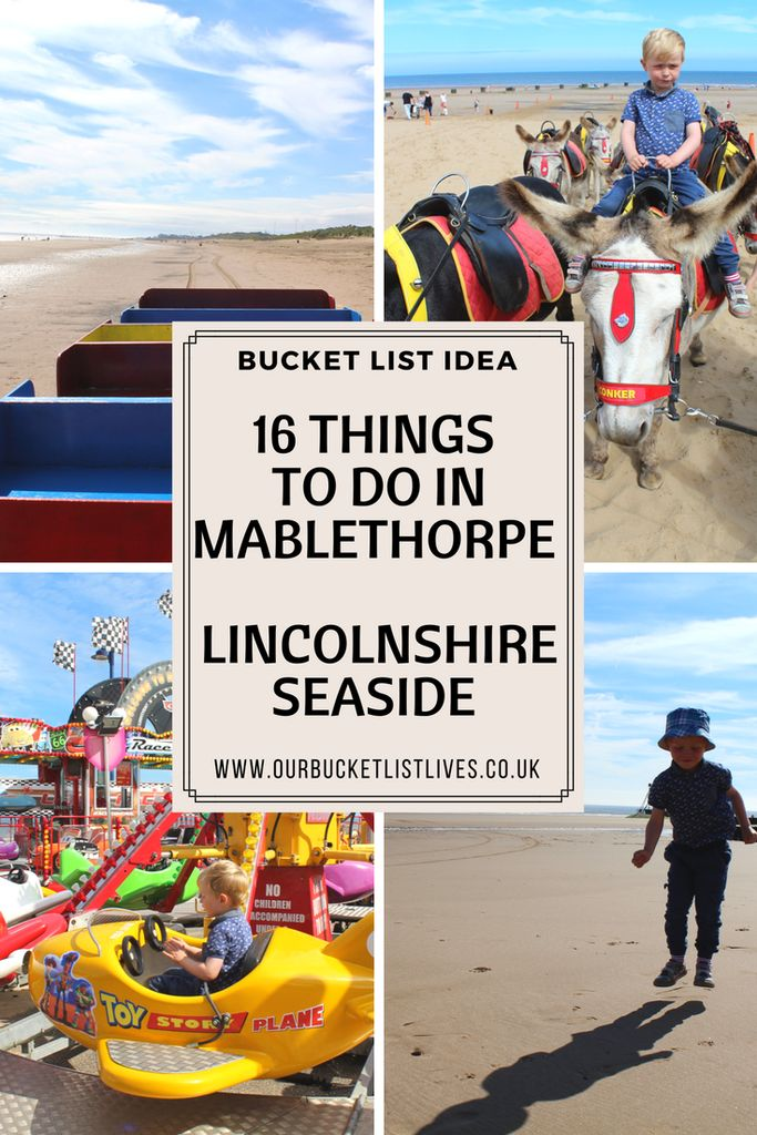 16 family friendly things to do in Mablethorpe. Lincolnshire seaside. #mablethorpe #Lincolnshire #dayout #familyfriendly #familytravel #travel what is there to see and do in Mablethorpe. Sand train, Jackson's land train, paddling pool, beach, amusements, donkeys and much more