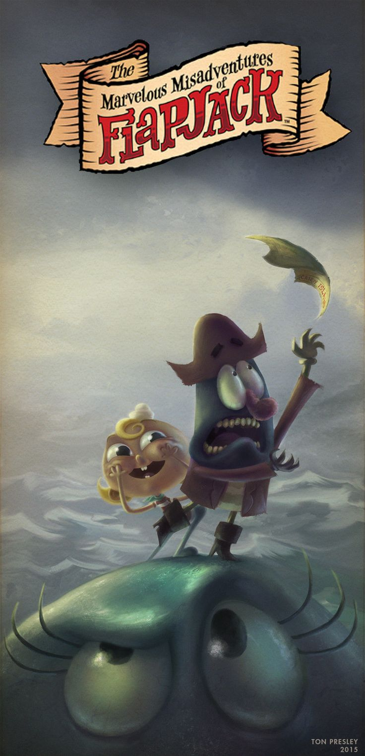 The Marvelous Misadventures of Flapjack, Ton Castro on ArtStation at https://www.artstation.com/artwork/1w1eX