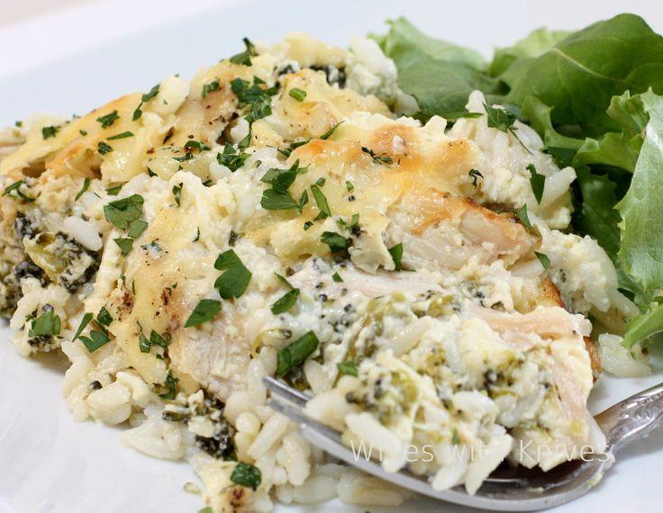broccoli and cheese rice casserole