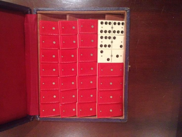 from Vivian: domino set