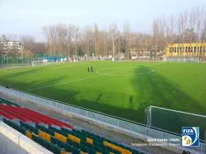 Act Global has achieved two FIFA Two Star Certified installations with the advanced woven artificial turf system in Poland.
