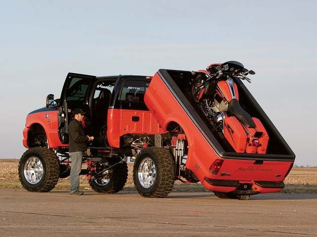 2013 harley davidson F350...OK We need to win the lottery.! Then we would need our trailer
