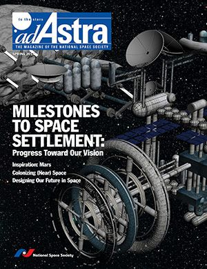 Ad Astra - The magazine of the National Space Society.  Volume 26, Number 1, Spring 2014.