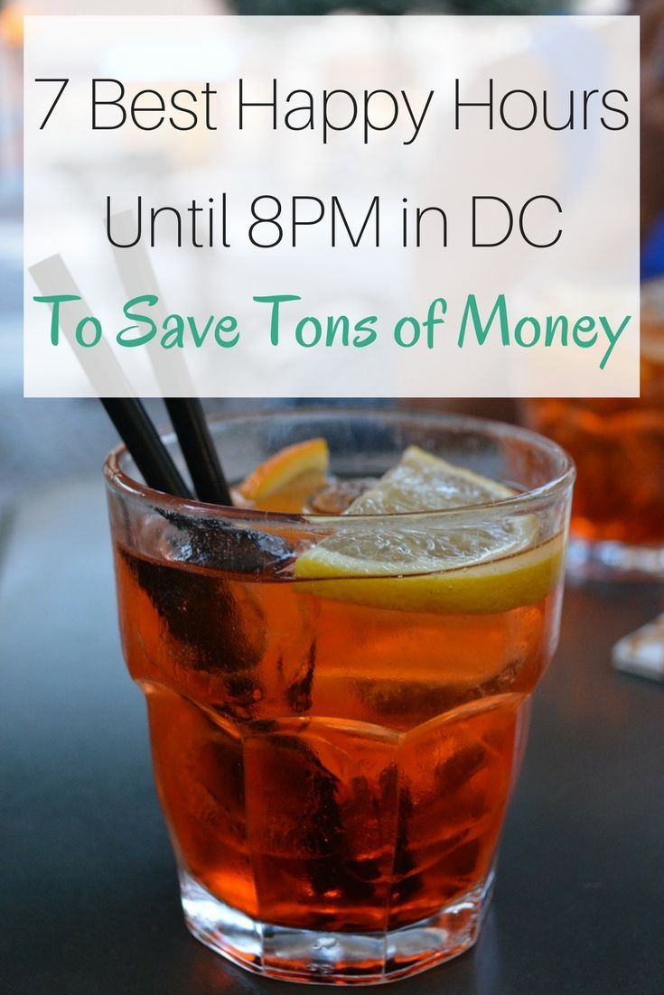 7 Best Happy Hours Until 8 in DC - Universal Jetsetters