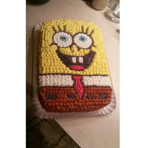 Sponge bob cake ☺
