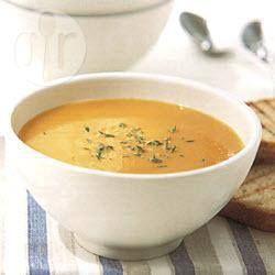 Pumpkin & apple soup @ allrecipes.com.au
