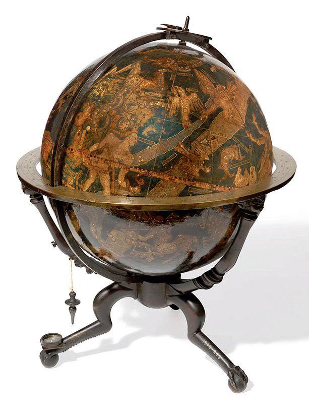 Celestial globe by Johann Schner c1534 151