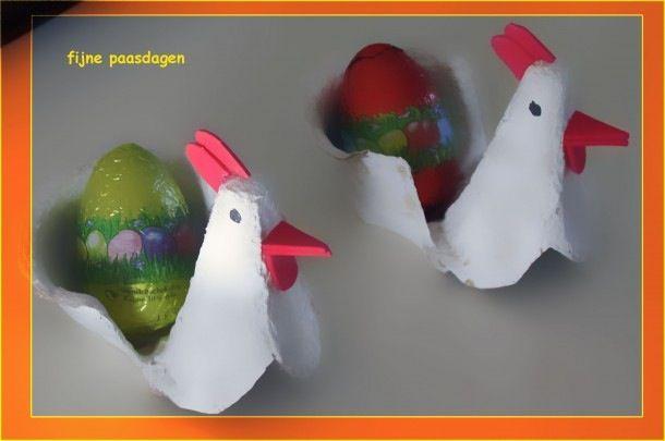Kip - eierdopje