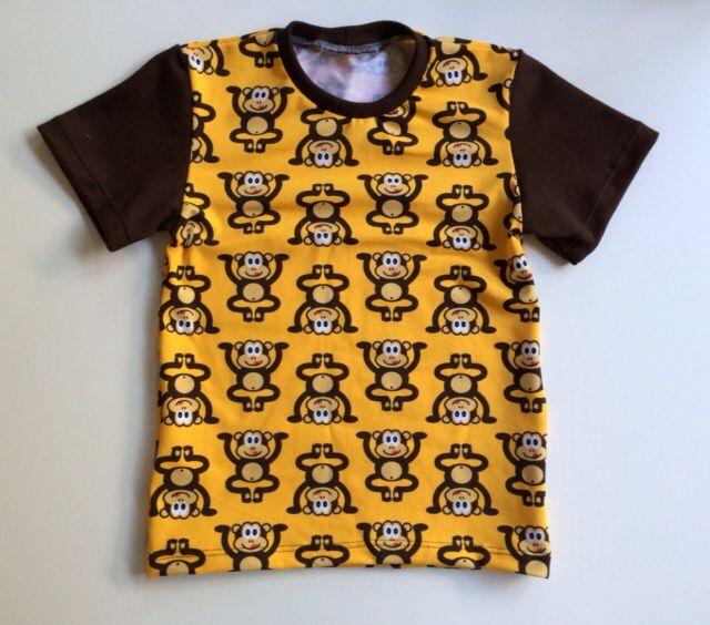 T-shirt med aber