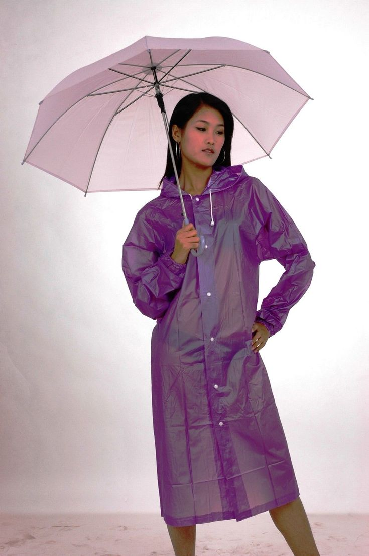 Lackina Pvc Raincoat,5 Colour
