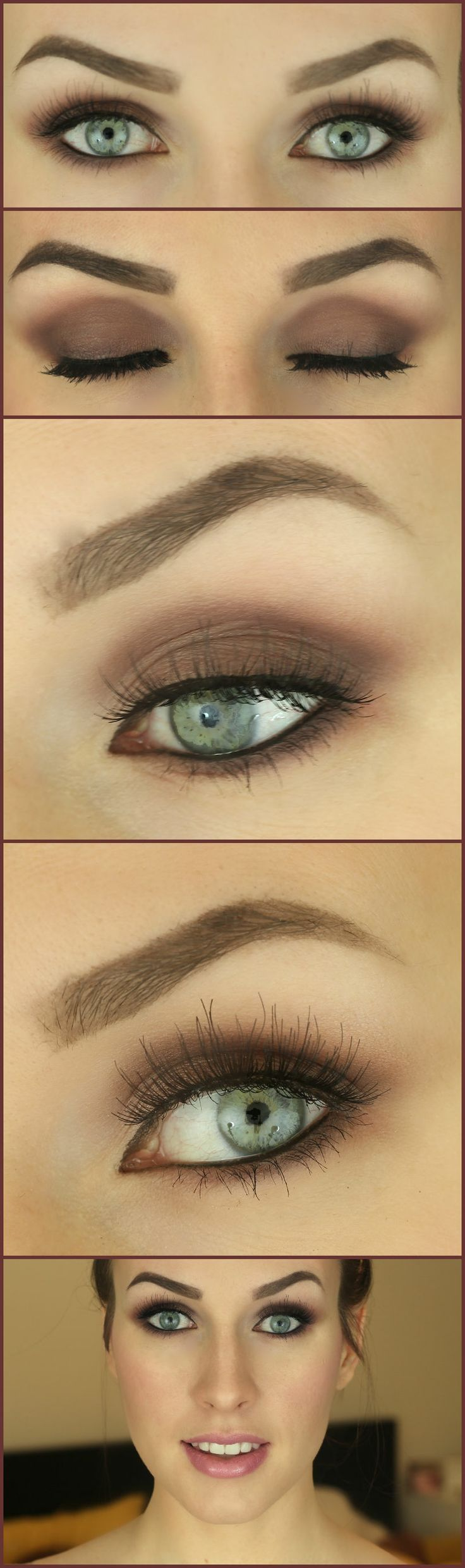 5 Tips for the most natural bridal makeup Plum smokey