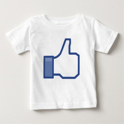 Thumb up facebook LIKE Kids tshirt - kids kid child gift idea diy personalize design