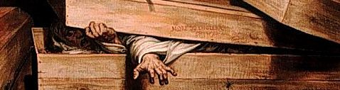 The Legend:  Some poor schmuck is committed to his or her eternal resting place, even though they aren't quite ready to take that final dirt nap. Scratch marks are later found on the coffin lid along with other desperate signs of escape.  The Truth:    This not only happened, but back in the day it happened with alarming regularity. In the late 19th century, William Tebb tried to compile all the instances of premature burial from medical sources of the day. He managed to collect 219 cases of…