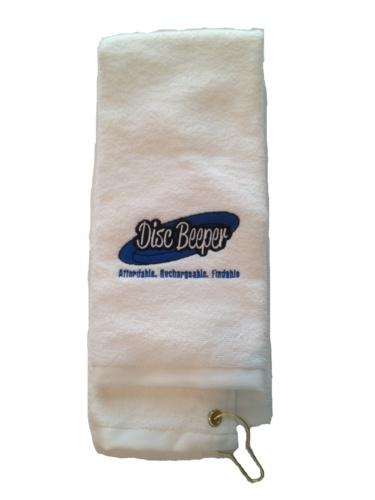 Disc Golf Towel- White