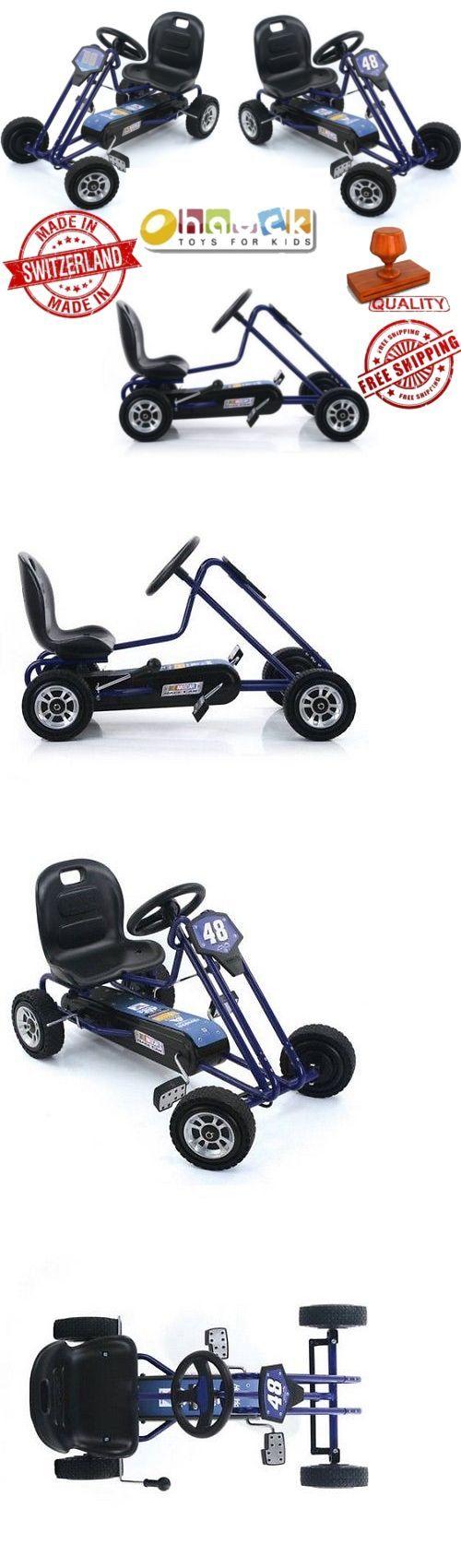Complete Go-Karts and Frames 64656: Ride On Go Kart Nascar Pedal Car Kids Outdoor Junior Toy Racing Steel Go Kart -> BUY IT NOW ONLY: $150.51 on eBay!