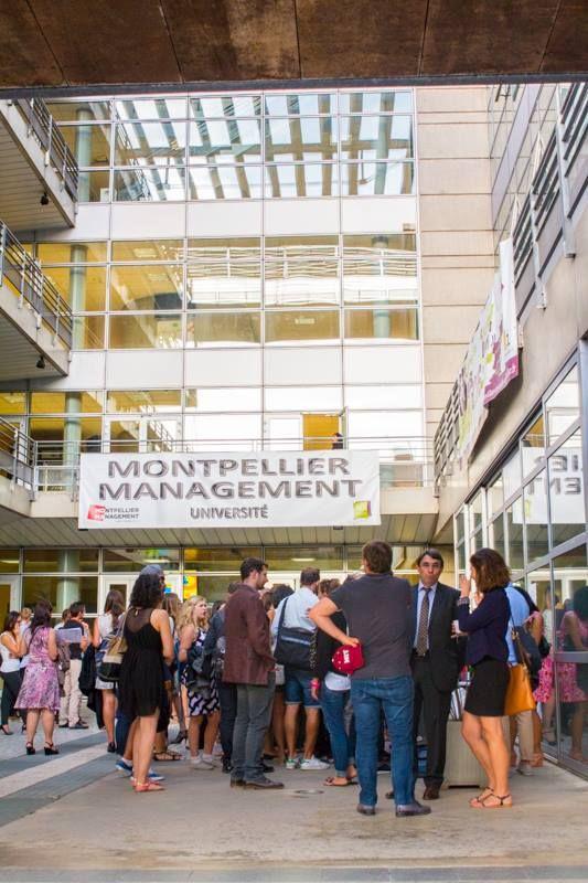 Remise des diplômes de la promo 2014-2015  du master commerce des vins université Montpellier Management  #montpelliermanagement #diplômes #m2cdvins