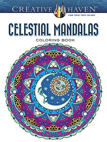 Creative Haven Celestial Mandalas Coloring Book Books By Marty Noble