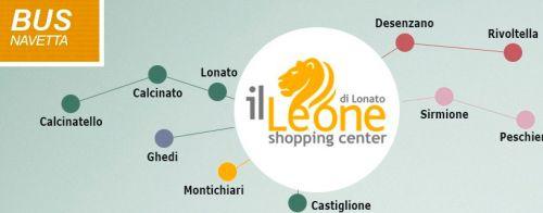 Shopping? Bus Navetta gratuito per il Leone Shopping Center @GardaConcierge