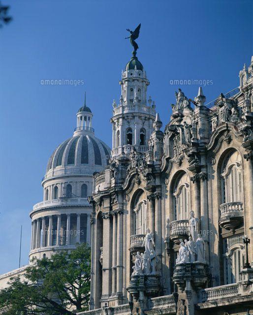 ロルカ劇場とカピトリオ(旧国会議事堂)キューバ 旅行・観光のおすすめのスポット!