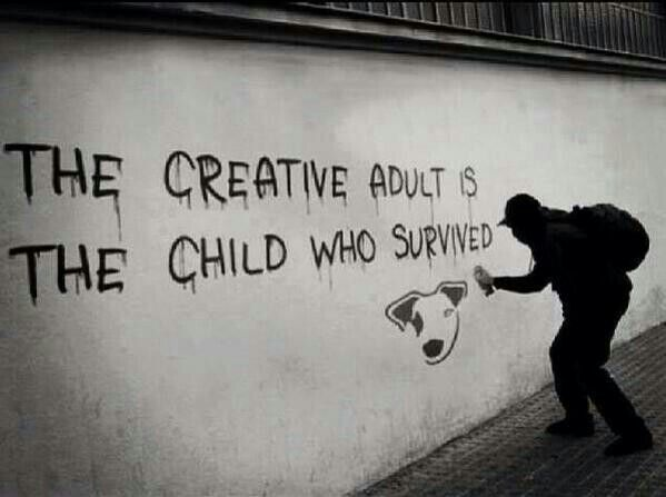 The creative....