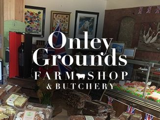 Onley Grounds Farm Shop homepage