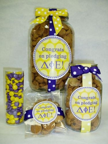 Sorority gift jars