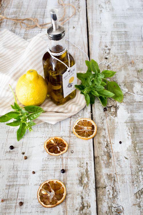 Huile parfumée citron-basilic