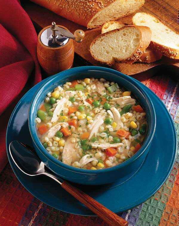 Chicken Barley Soup Recipe ! | Soups/Stews | Pinterest