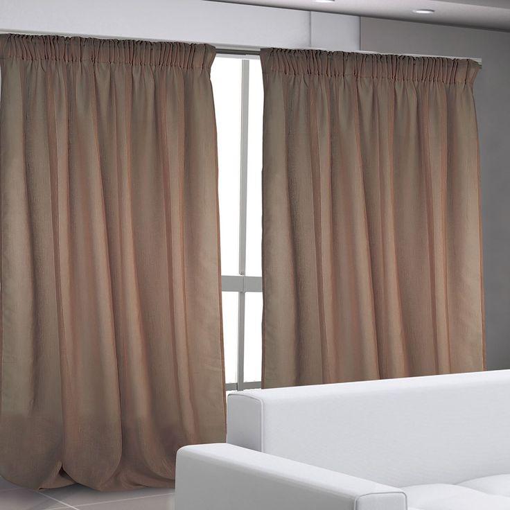 Έτοιμη Κουρτίνα Das Home, 140x280 με τρέσα, σχ. 2003 100% polyester Διάσταση φύλλου: 140x280 cm.