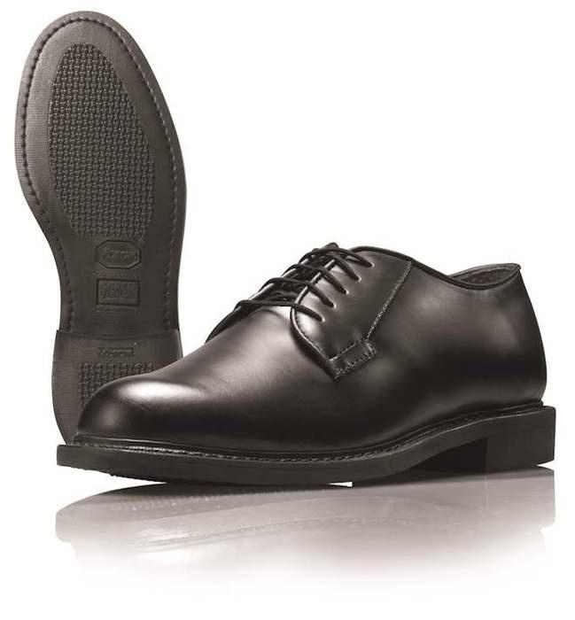 Wellco Dress Oxford B301 - Black - All Leather