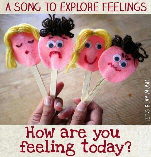 Craft and song to explore feelings