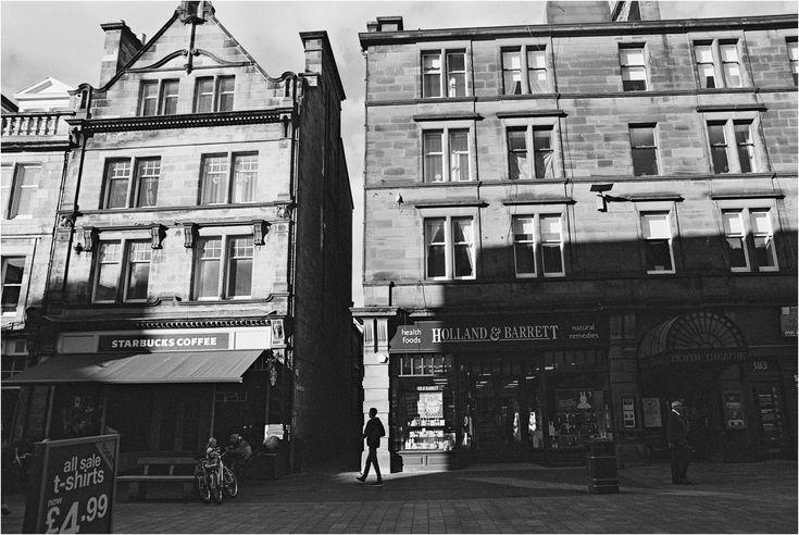 street photography - Perth, Scotland 35mm nikon F80 Gilford pushed +2