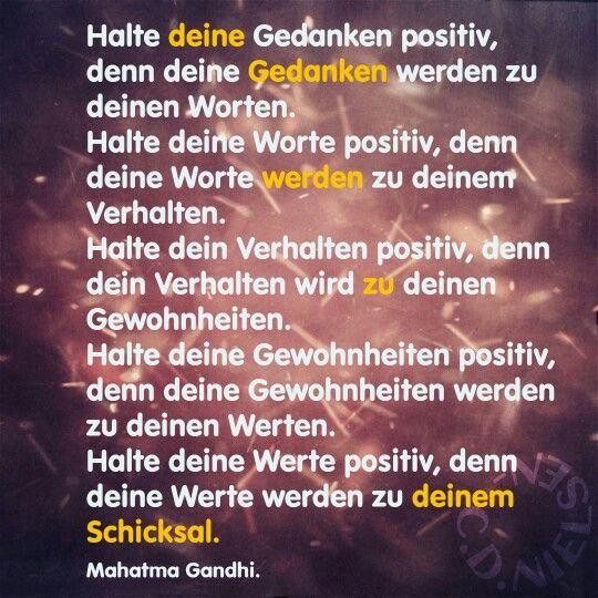 #ghandi, #zitate, #deutsch