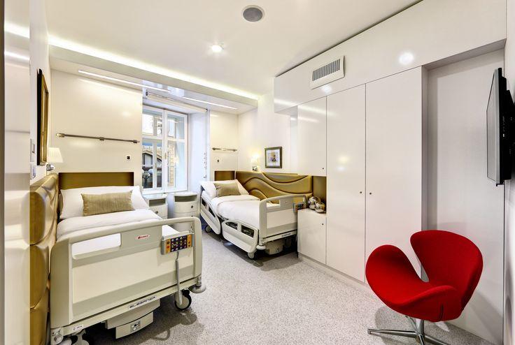Pooperační pokoje - skvělý komfort