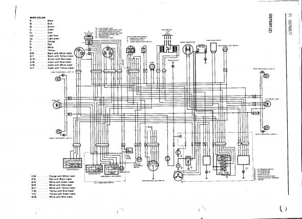 1979 Suzuki Gs750 Wiring Diagram   Diagram, Suzuki, WirePinterest