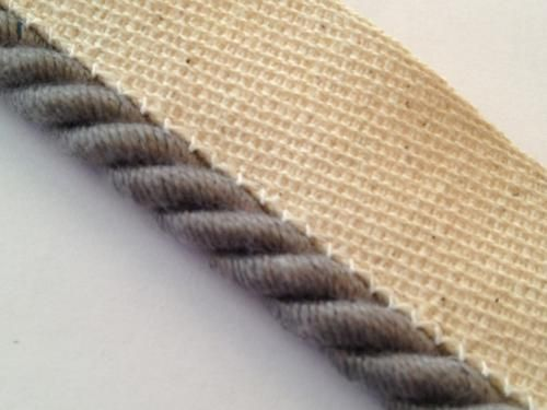 Instabind rope edge style carpet binding to rug