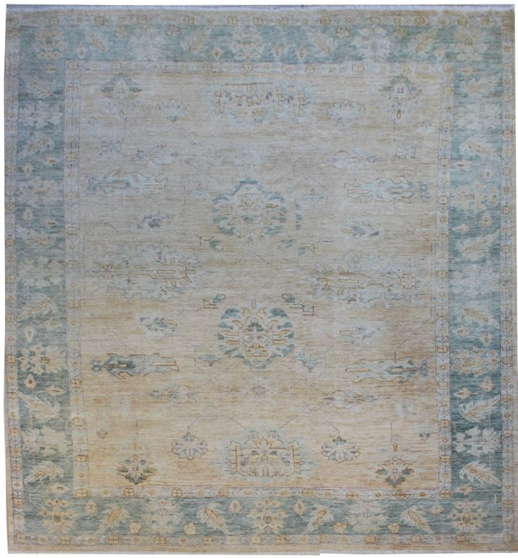 Faded Oushak 9x12 Rug Traditional Rugs Rugs