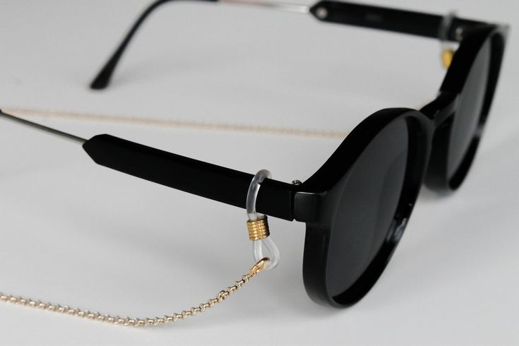 Gold sunglass chain - summer essential, sunglass accessory