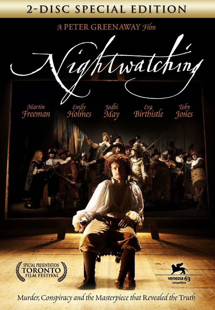 'Nightwatching', directed by Peter Greenaway (2007). It's the first feature in Greenaway's film series on Dutch Masters, followed by 'Goltzius and the Pelican Company' (2012) and a film about Hieronymus Bosch (scheduled for 2016).