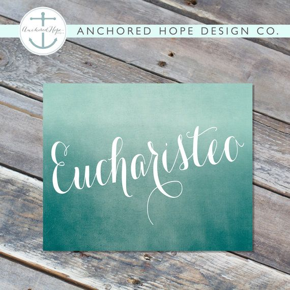 Eucharisteo Ombre One Thousand Gifts Ann Voskamp