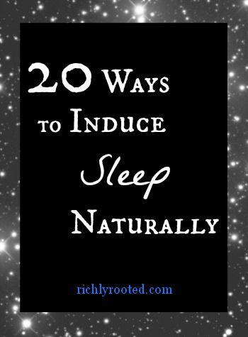 Natural Ways To Induce Restful Sleep
