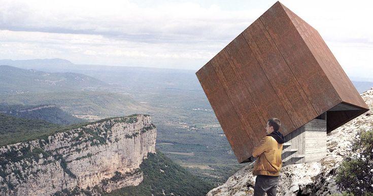 """Tip-Box: l'""""Elogio del Vuoto e della Vertigine"""" sul Pic-Saint-Loup in Francia"""