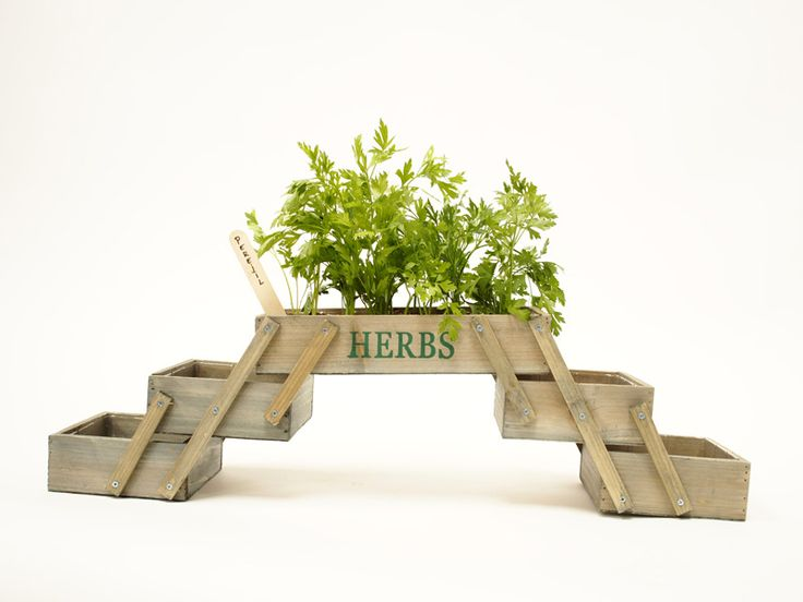 Jardinera plegable en varias alturas siembra tus - Mueble para plantas ...