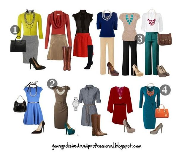Young, Polished & Professional: Business Casual: The most common and most misunderstood dress code