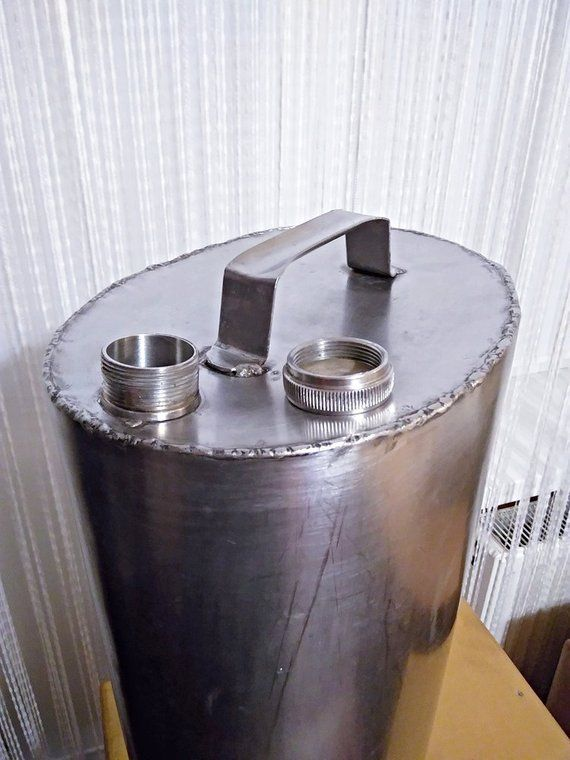 Metal Container 23 5 Liters Large Canister Vintage Flask Handmade Hand Welding Stainless Steel Food Steel Beverage Metal Containers Water Storage Vintage Flask