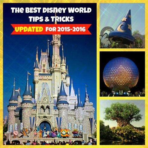 The Best Disney World Tips and Tricks UPDATED for 2015-2016 vacations. Hundreds of tips to make the most of your Disney vacation: How to save money, time, and more, more more! Plus some infortmation you probably haven't read yet!