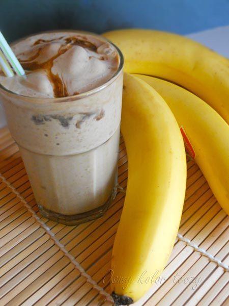Shake bananowo-kawowy. | Ósmy kolor tęczy - Blog kulinarny