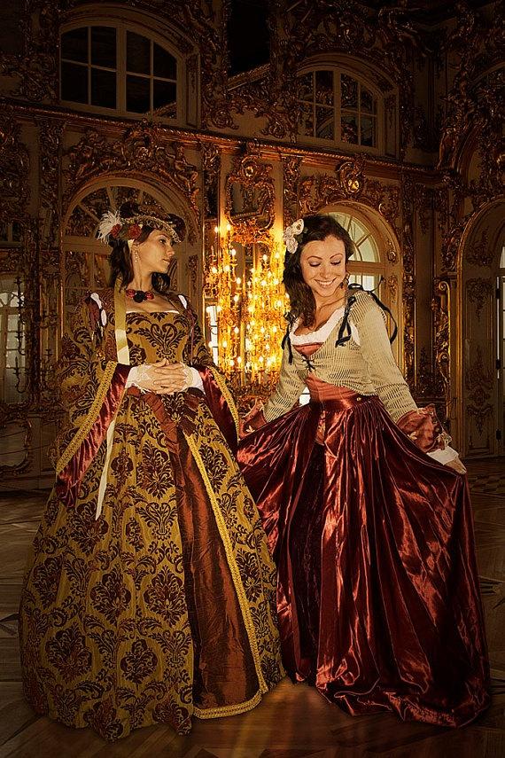 Fantasy Costume  Renaissance Dress  by WanderingLilyDesigns. , via Etsy.