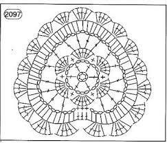 Resultado de imagen de aplicacion crochet con forma de corazon